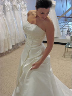 wedding gown alteration service